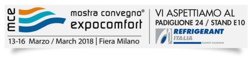 MCE 2018 - MOSTRA CONVEGNO EXPOCOMFORT